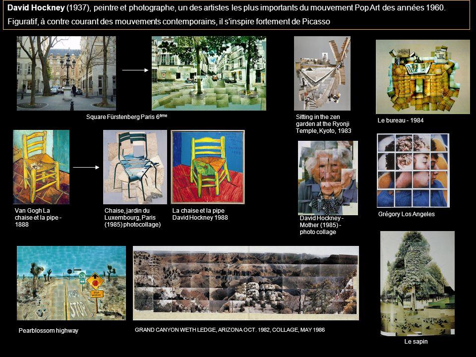 (C) Thierry DELAMOTTE - CPD Culture humzndi David Hockney (1937), peintre et photographe, un des artistes les plus importants du mouvement Pop Art des