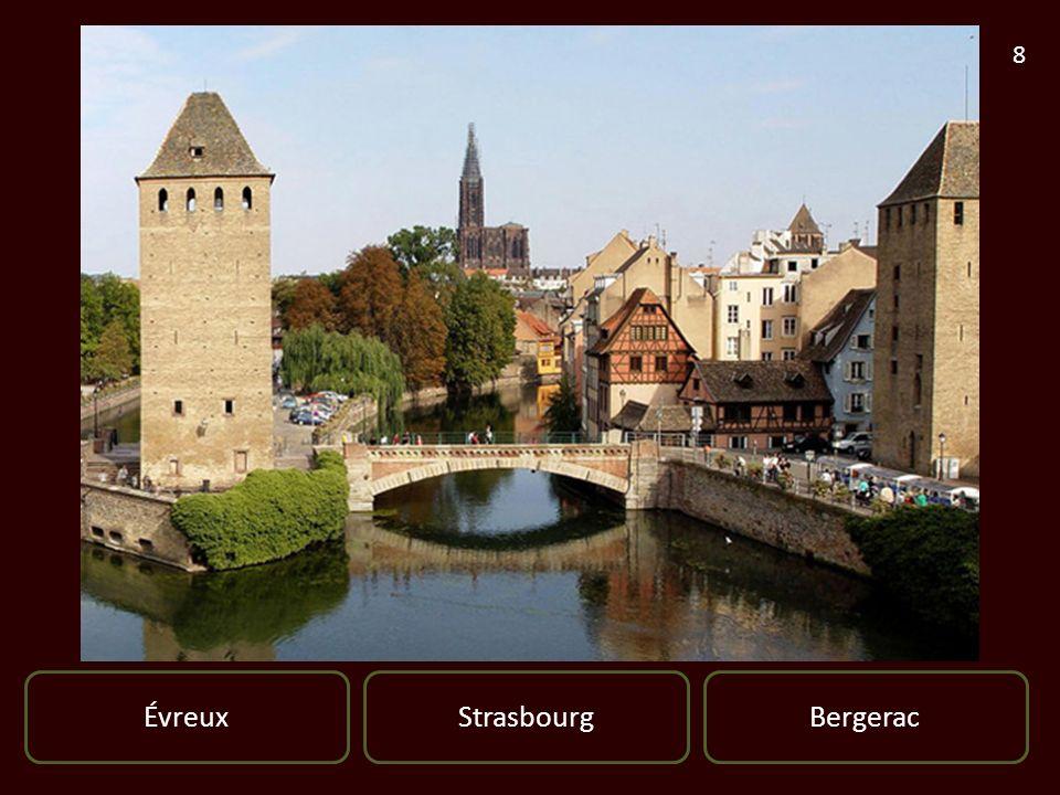 ÉvreuxBergeracStrasbourg 8