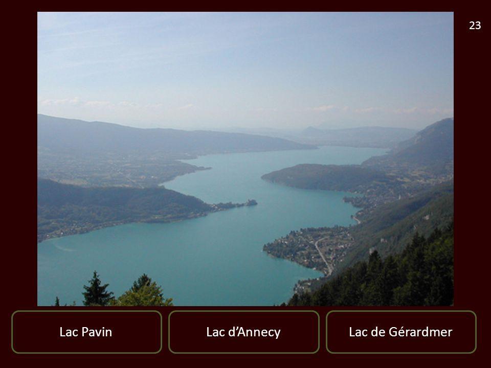 Lac PavinLac de GérardmerLac dAnnecy 23