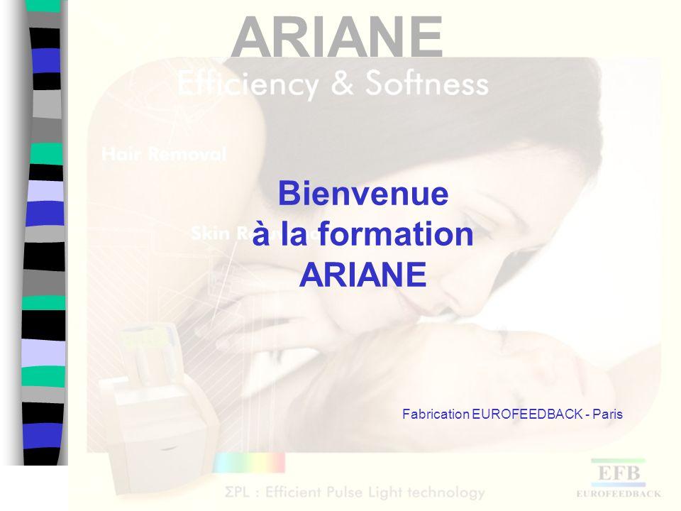 ARIANE Energie et fluence des flashs EnergiePoilsVaisseaux NormaleEpaisFin ElevéeEpais ForteFin 32