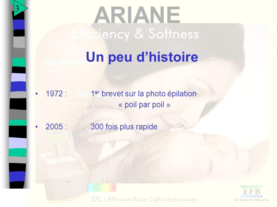 ARIANE Spectre démission dune lampe flash non filtrée 14