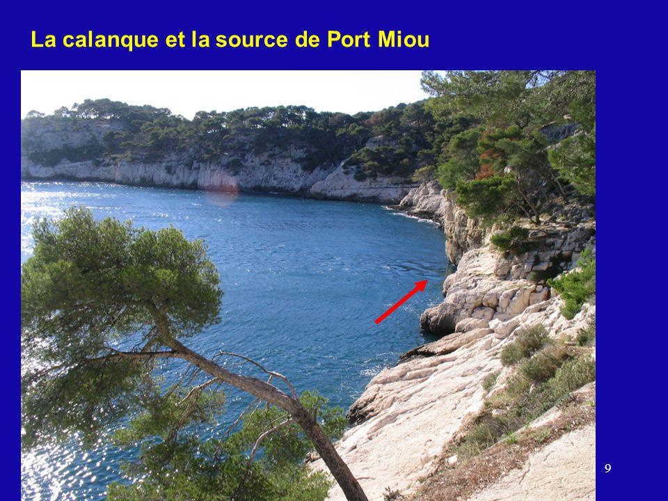 9 La calanque et la source de Port Miou