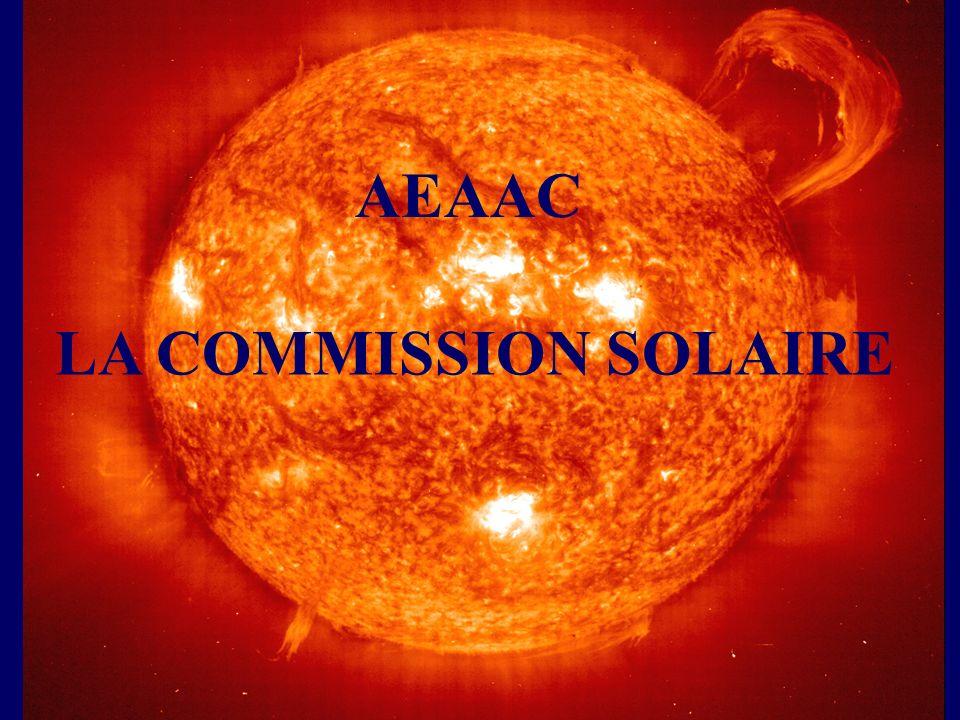 LA COMMISSION SOLAIRE AEAAC