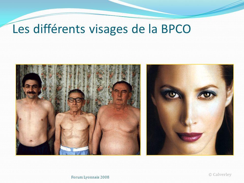 Forum Lyonnais 2008 Les différents visages de la BPCO © Calverley