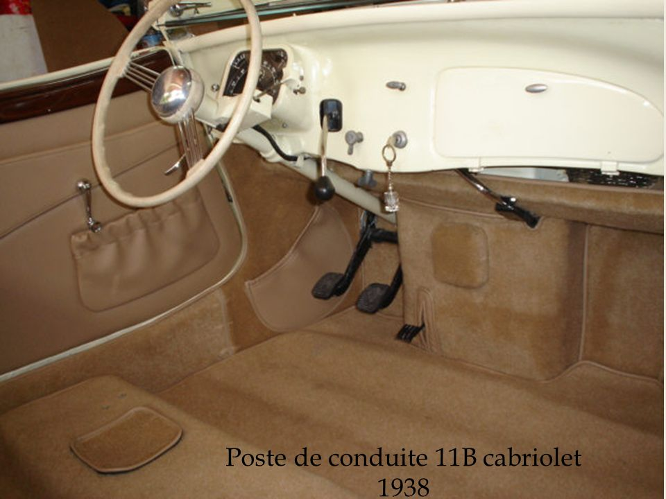 Citroën traction avant 11 B cabriolet 1938