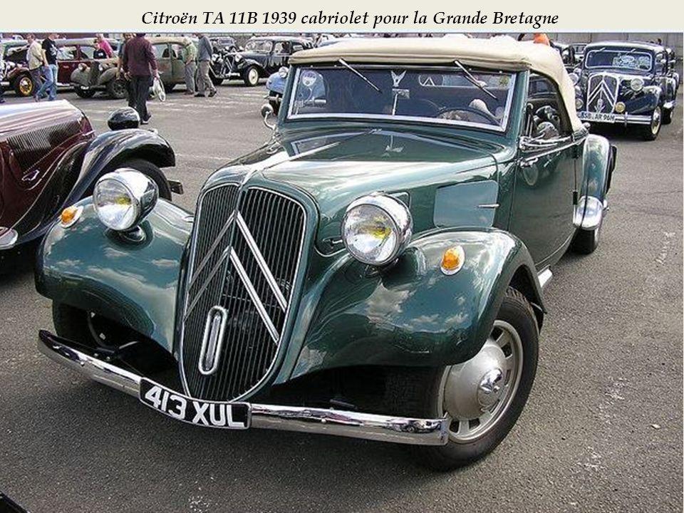 Poste de conduite 11B cabriolet 1938