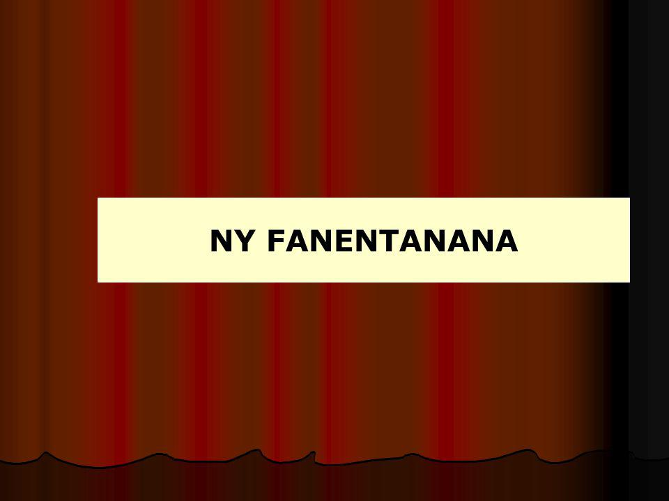 NY FANENTANANA