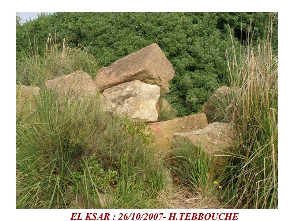 EL KSAR : 26/10/2007- H.TEBBOUCHE