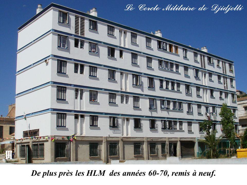 De plus près les HLM des années 60-70, remis à neuf.