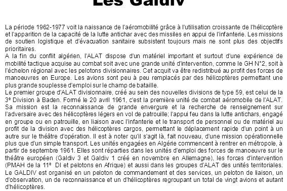 En mars 1962, une décision ministérielle consacre définitivement l autonomie de l ALAT par rapport à l Armée de l Air.