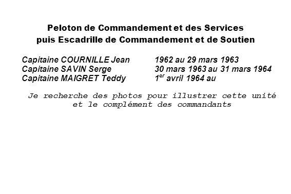 Laérodrome de Sétif en 1931 (SHD) 1931 (SHD) Peloton de Commandement et des Services puis Escadrille de Commandement et de Soutien Capitaine COURNILLE
