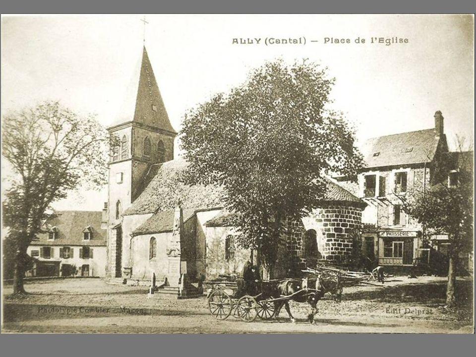 vue sur Brageac et son église
