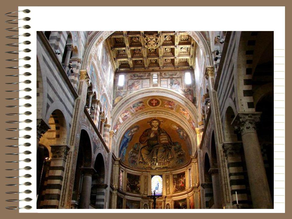 La mosaique du Christ trônant entre la Vierge et Saint jean a été réalisée avec la collaboration de Cimabue en 1302.