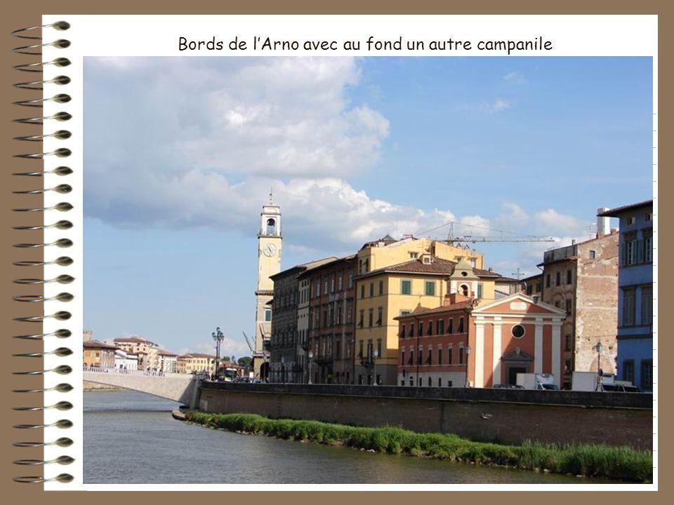 Façade dun hôtel au bord de l Arno