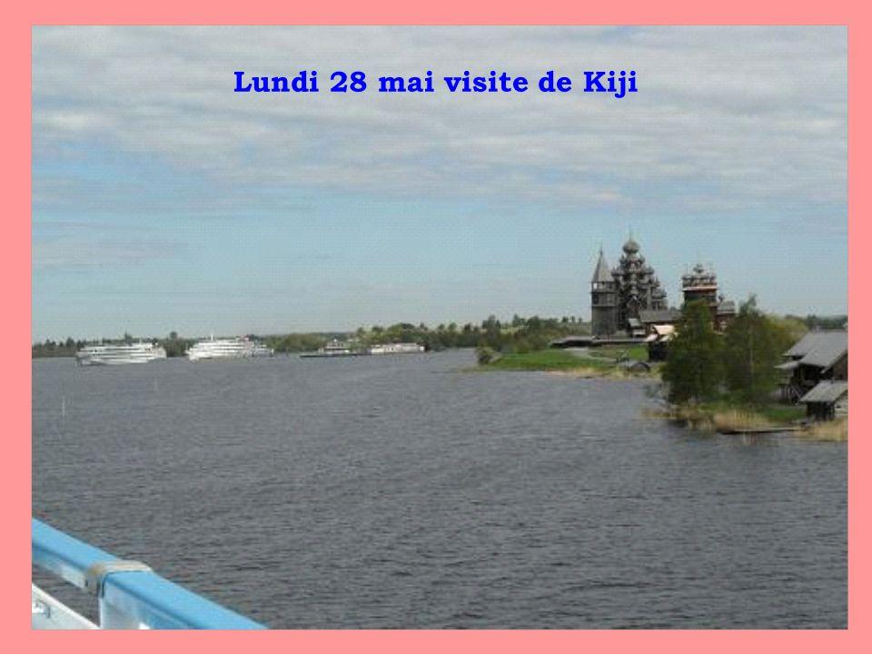 Lundi 28 mai visite de Kiji
