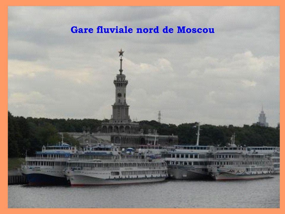 Gare fluviale nord de Moscou