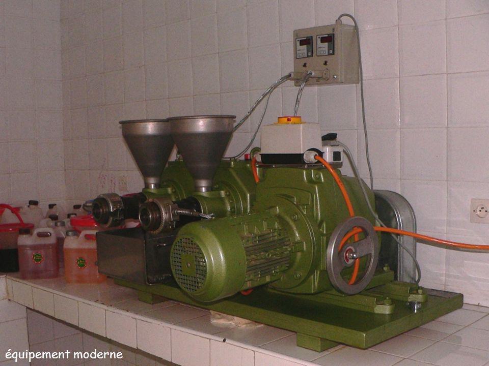 équipement moderne