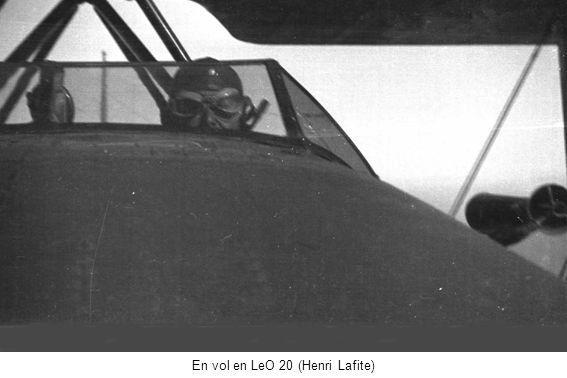 En vol en LeO 20 (Henri Lafite)
