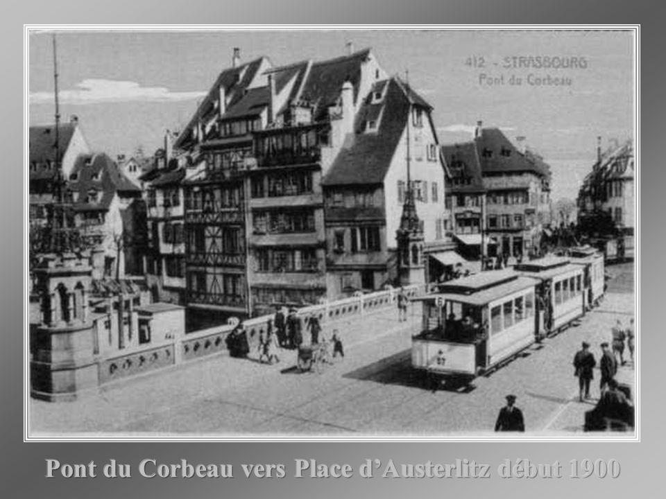 Pont du Corbeau 1920 Pont du Corbeau 1897