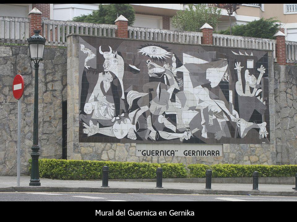 Mural del Guernica en Gernika