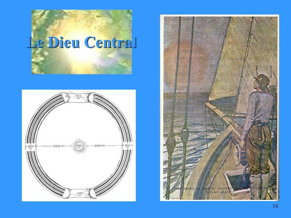 37 « Il est le Dieu qui trône au Centre, sur le Nombril de la Terre, et Il est lInterprète de la Religion pour toute l humanité.