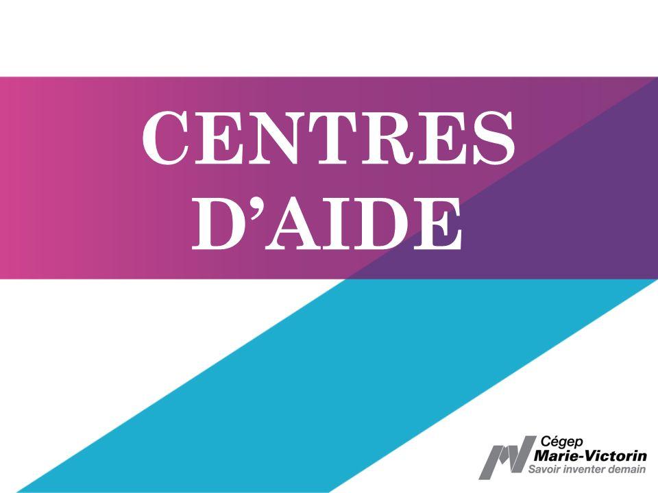 CENTRES DAIDE