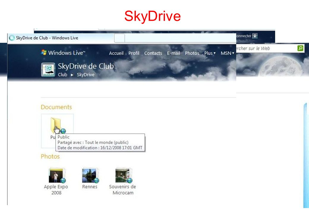 121 SkyDrive