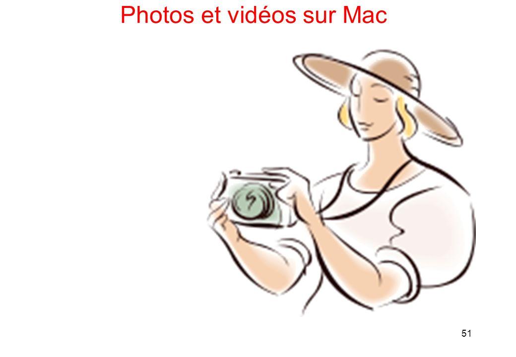51 Photos et vidéos sur Mac