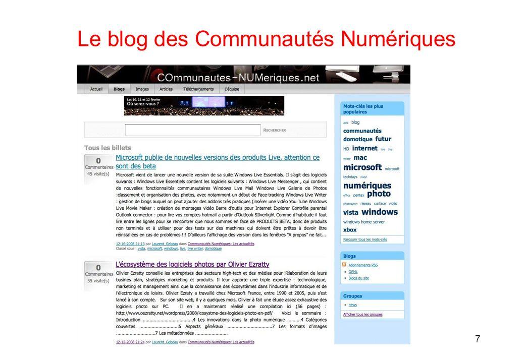 Le blog des Communautés Numériques 7