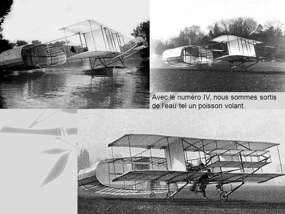 Avec le deuxième et le troisième, lannée 1906, nous avons passé beaucoup de temps dans leau.