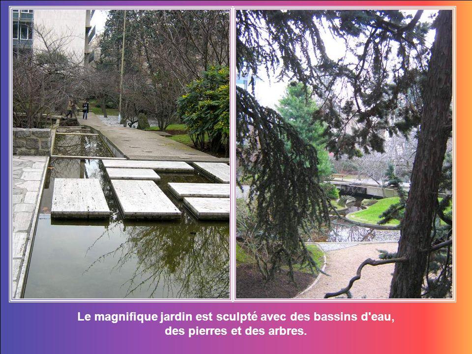 Le Jardin de la Paix populairement connu comme le jardin japonais.