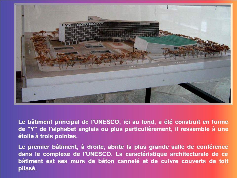 Journée de découverte en ce mois de janvier, deux jours de conférence à lUNESCO.