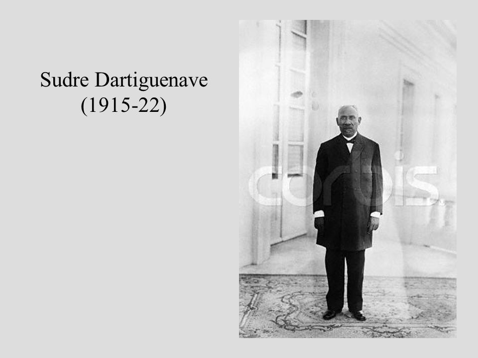 Sudre Dartiguenave (1915-22)