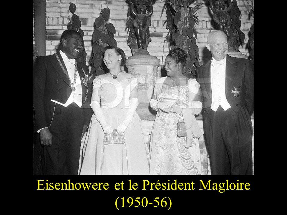 Eisenhowere et le Président Magloire (1950-56)