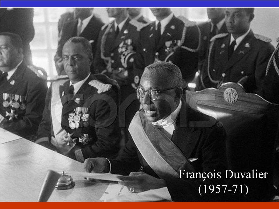 François Duvalier (1957-71)