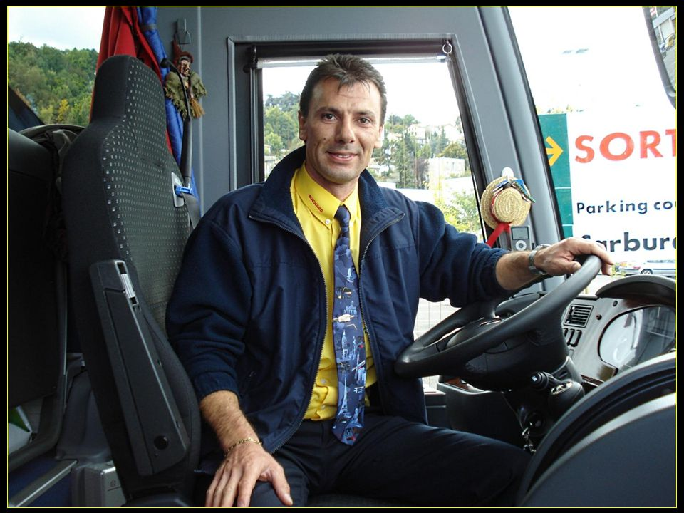 et notre super chauffeur Mauro