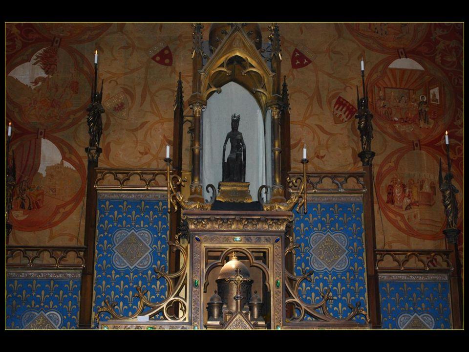 La vierge noire de Rocamadour