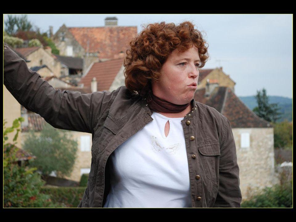 et Elisa notre guide locale