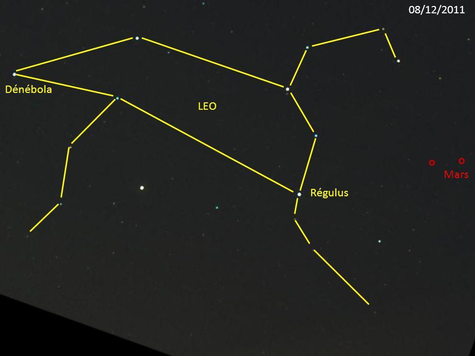 Régulus LEO Dénébola Mars 08/12/2011