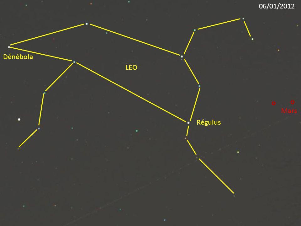 Régulus LEO Dénébola Mars 06/01/2012