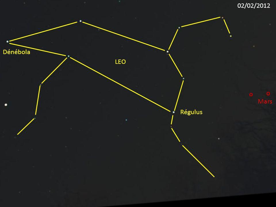 Régulus LEO Dénébola Mars 02/02/2012