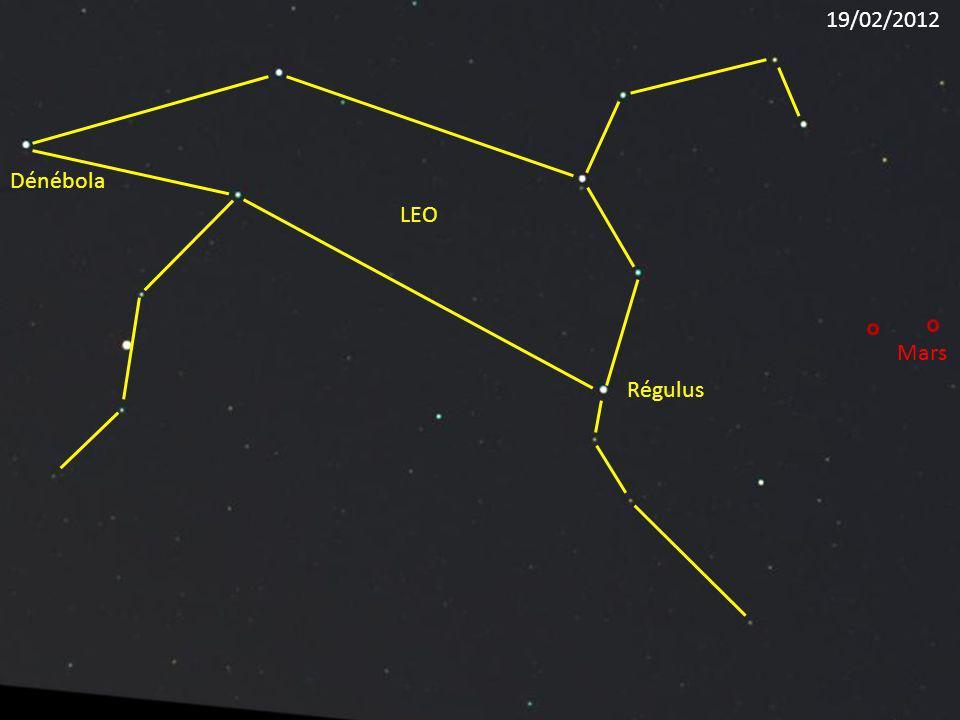 Régulus LEO Dénébola Mars 19/02/2012