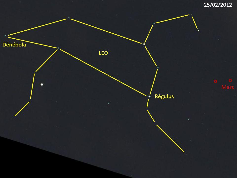 Régulus LEO Dénébola Mars 25/02/2012