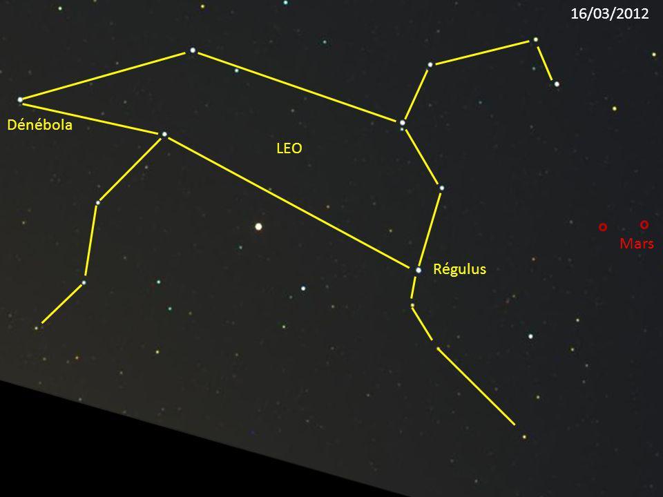 Régulus LEO Dénébola Mars 16/03/2012