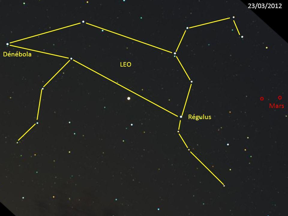 Régulus LEO Dénébola Mars 23/03/2012