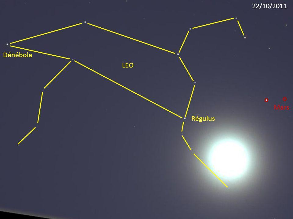 Régulus LEO Dénébola Mars 22/10/2011