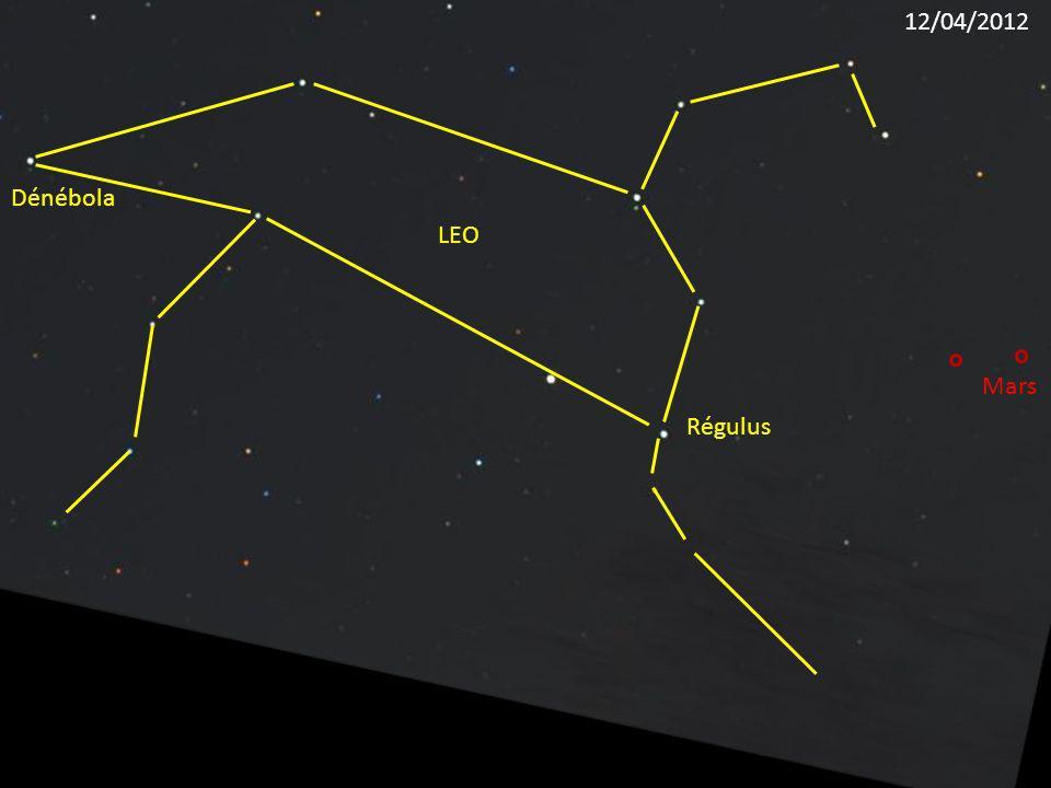 Régulus LEO Dénébola Mars 12/04/2012