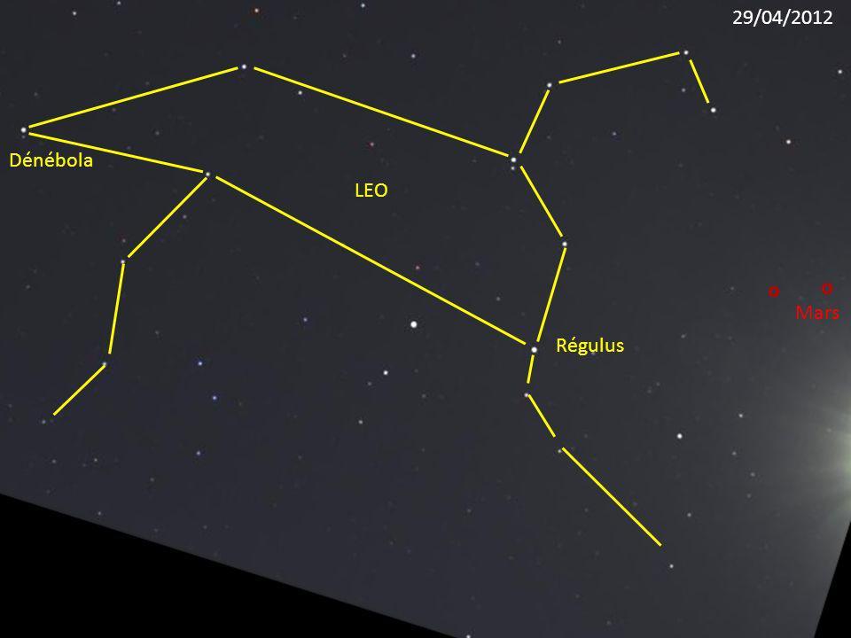 Régulus LEO Dénébola Mars 29/04/2012