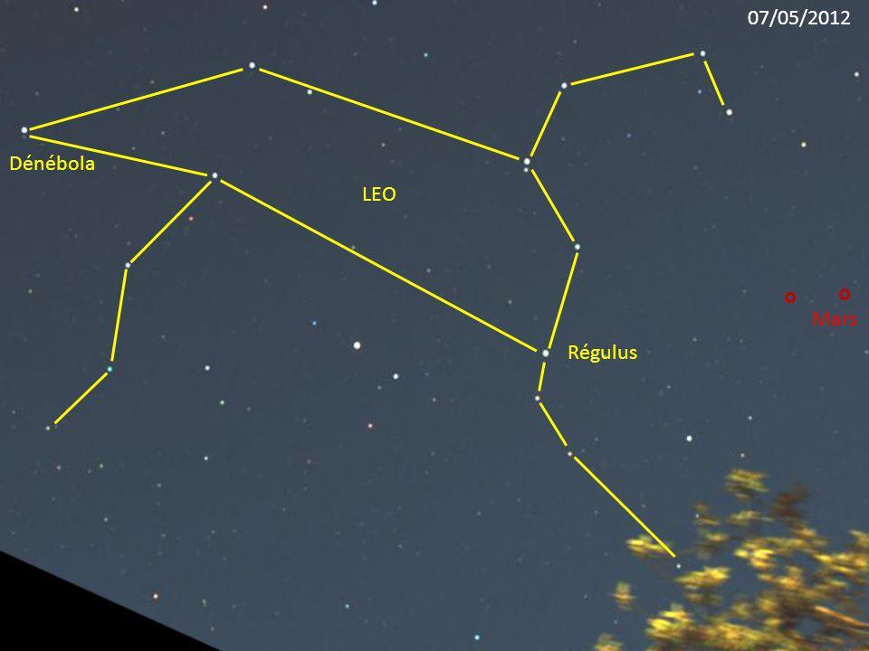 Régulus LEO Dénébola Mars 07/05/2012