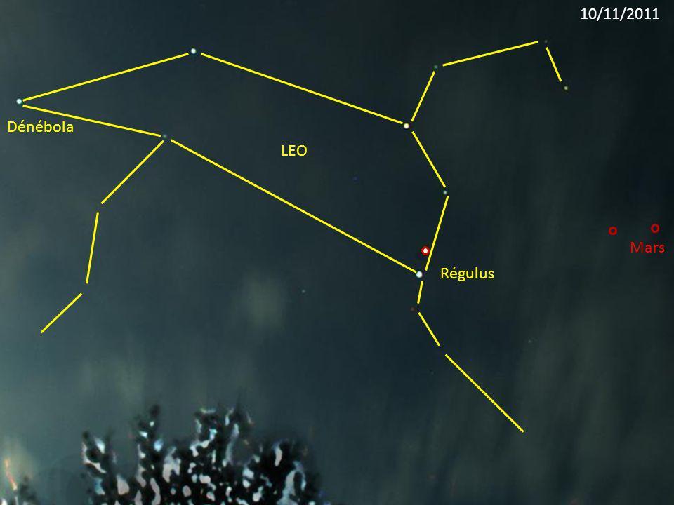 Régulus LEO Dénébola Mars 10/11/2011